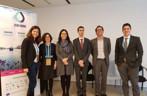 El proyecto Zero Brine expone cómo obtener recursos de las salmueras en la European Innovation Partnership on Water (EIP Water) Conference