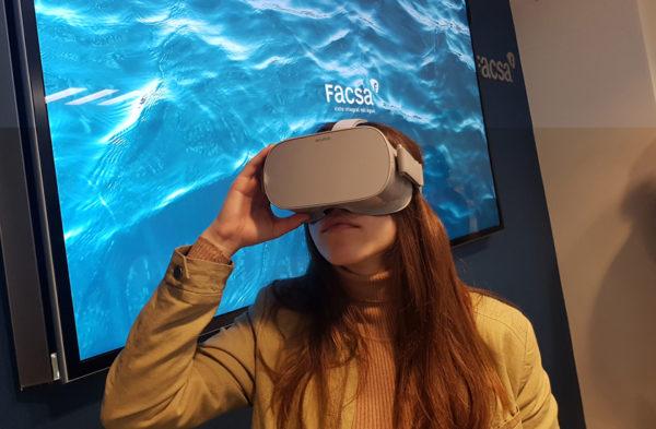 FACSA lanza un innovador programa divulgativo de Realidad Virtual para promover una mayor conciencia sobre el uso responsable del agua