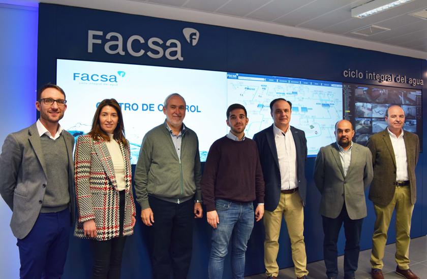 El Ayuntamiento de Castelló y FACSA ponen en común las principales líneas de trabajo para potenciar la gestión inteligente y sostenible del agua