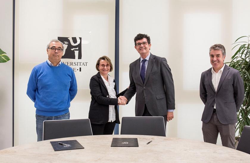FOBESA y la UJI renuevan el convenio de colaboración para becar al alumnado residente en Benicàssim