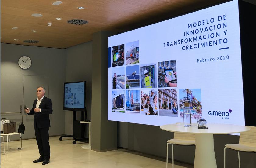 Grupo Gimeno pone en valor su modelo de transformación digital en la última jornada de Sabadell Hub Empresa