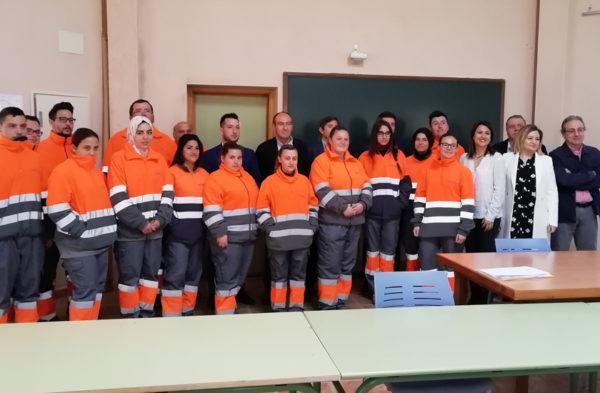 FOBESA pone en marcha un Plan Dual de Empleo de limpieza Viaria y Recogida de Residuos en Caudete