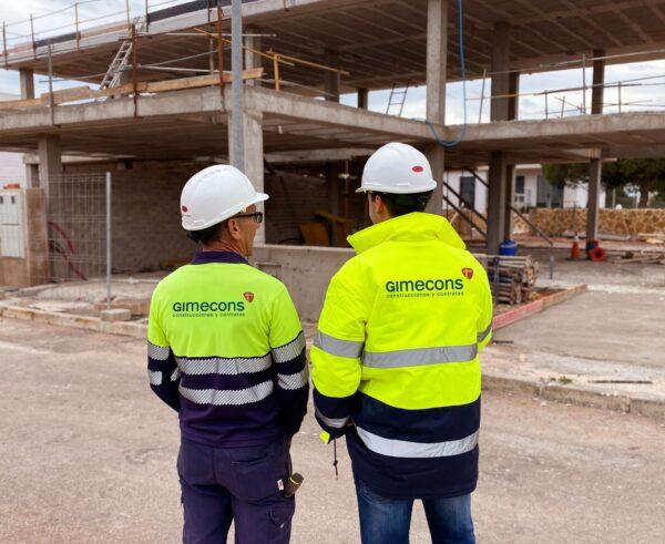 Gimecons - residencial vibemar - obra 2